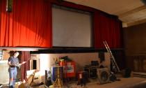 Noch ist die Leinwand des Rialto-Kinos leer - das soll sich bald ändern