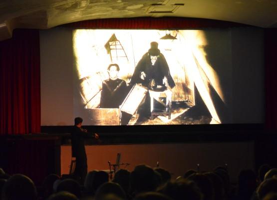 Das Cabinet des Dr. Caligari - Premiere im Rialto-Kino