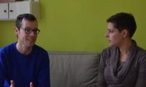 Moritz Rinn vom AKU im Interview mit Annabel Trautwein von WilhelmsburgOnline.de