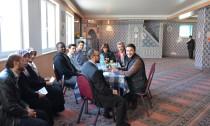 Freundlich, aber kritisch - in der Ayasofya Moschee diskutierten Muslime und Nicht-Muslime über den Glauben
