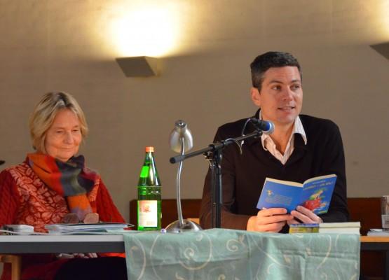 Kirsten Boie und Ingo Zamperoni kennen sich mit dem Vorlesen sehr gut aus