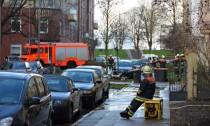 Keller auspumpen in der Fährstraße - die Feuerwehr hatte alle Hände voll zu tun