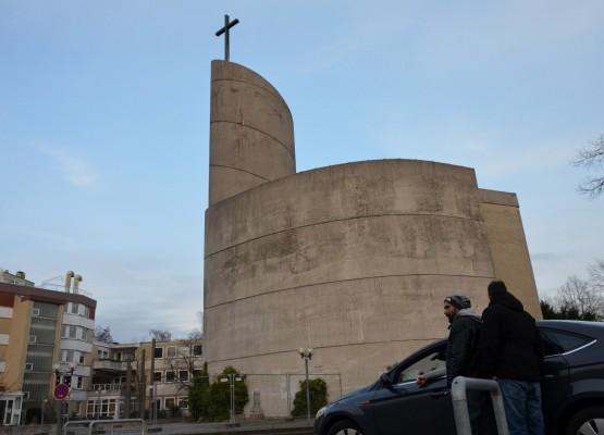 Die katholische Kirche St. Maximilian Kolbe ist ein Denkmal - trotzdem soll sie verschwinden