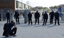 Polizeiaufgebot am Inselpark (Large)