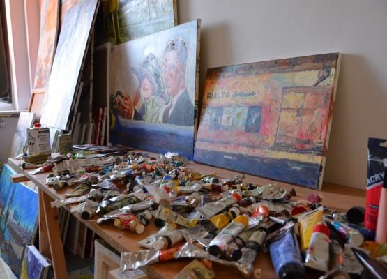 Im Atelier von Jann Kaune (Large)