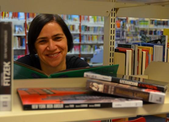 Sabine von Eitzen in der Bücherhalle