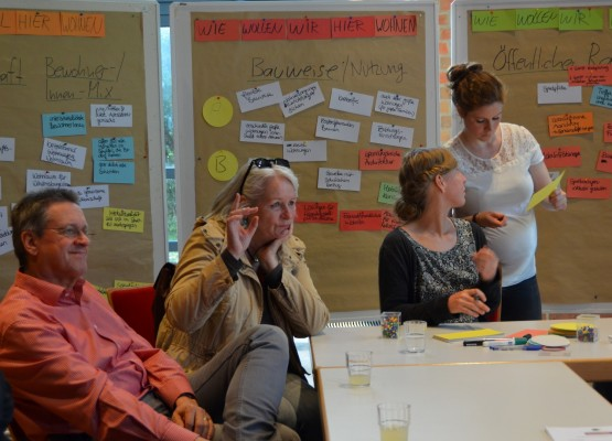 Planung Dratelnstraße Workshop head