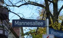 Symbol Mannesallee